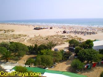 El Chorrillo y La playa de Los Bateles