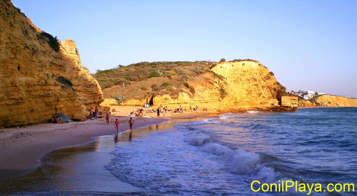 Cala del Puntalejo, Conil.