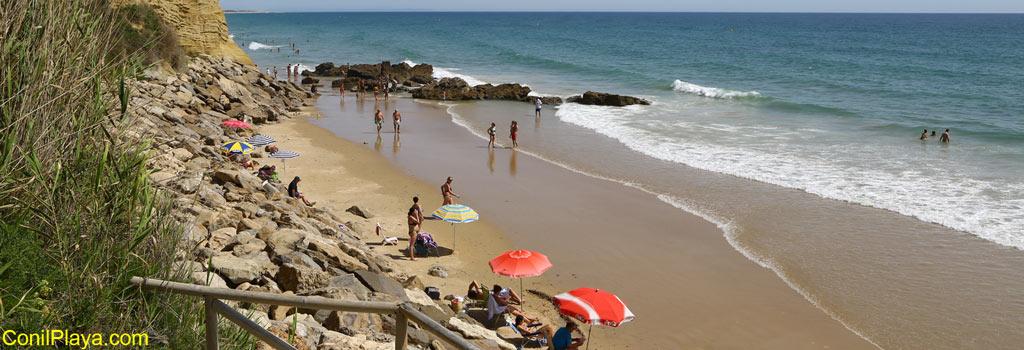 Conil playa de El Roqueo