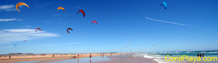 Kite-surf en Conil