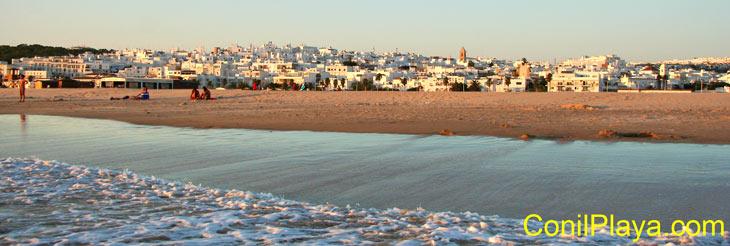 Playa de los Bateles, Conil. 29 de Agosto de 2009