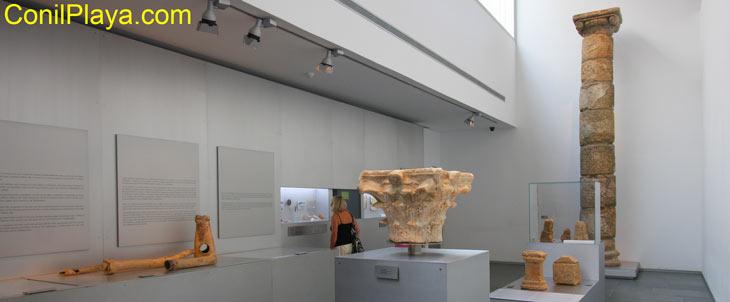 Interior del Museo de Baelo Claudia
