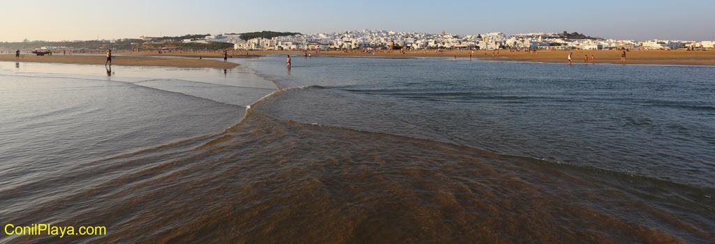 Playa de Los Bateles hacia El Palmar