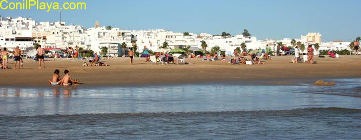 Playa de los Bateles, Conil. Septiembre de 2010.