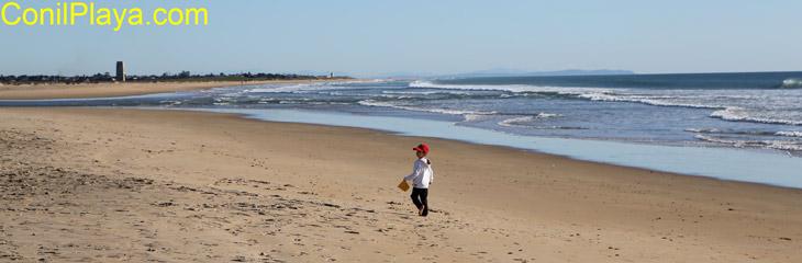 Playa de los Bateles, Conil. Febrero de 2012.
