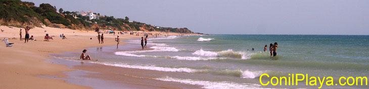 playa de Roche el 28 de agosto de 2008.