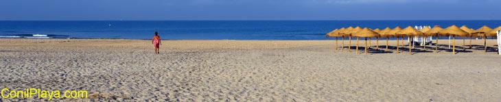 La Playa de El Chorrillo en Julio de 2013