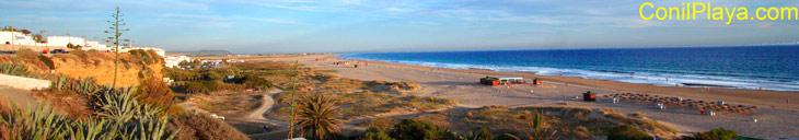Playa del Chorrillo, Conil, 14 de Junio de 2008.