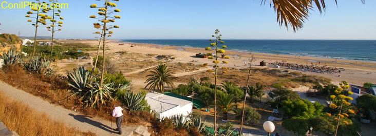 Playa de El Chorrillo el 20 de Julio de 2011.