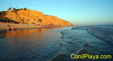 La belleza de las playas de Conil.