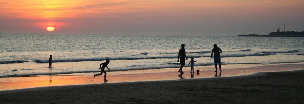 Conil playa de La Fontanilla
