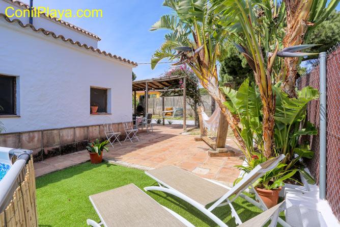 Chalet con piscina en alquiler en el Soto, cerca de Barbate y Vejer