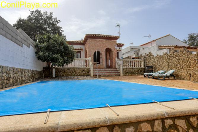 chalet con piscina en la Oliva, Vejer, cerca de Barbate