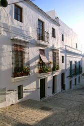 Casas en la calle Marqués de Tamarón / Divino Pastor, Vejer.
