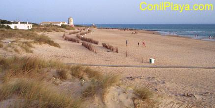 Playa de El Palmar.