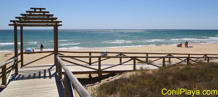 Playa del Palmar, cerca de Torre Nueva.