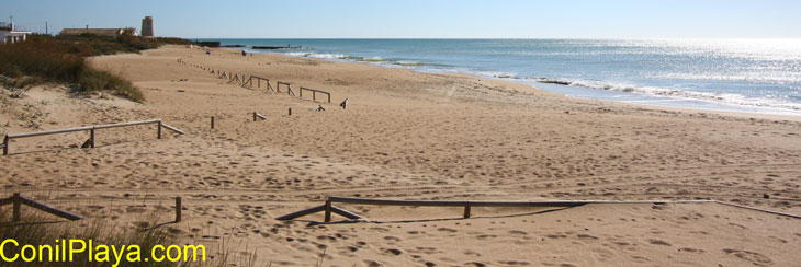 El Palmar 6/11/2010 sube el nivel del mar?.