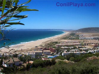 Playa Zahara de los Atunes Barbate Cadiz Andalucia