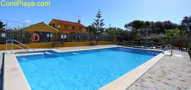 piscina de las casas