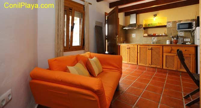 sofa del salón