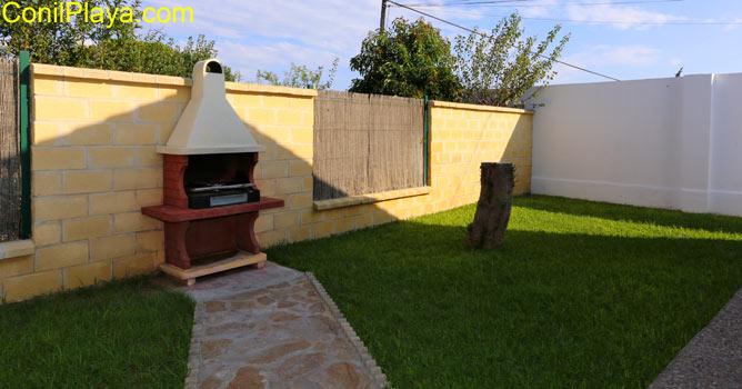 patio y barbacoa