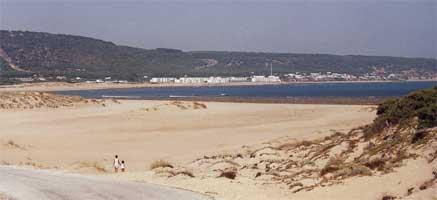 Vista de los Caños de Meca desde el Faro de Trafalgar